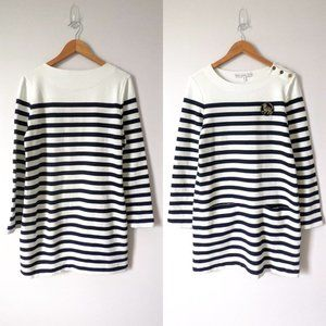 & Other Stories Knit Striped Sweater Dress10